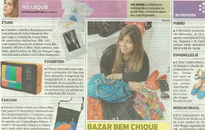 Natalia Machado promove bazar de luxo