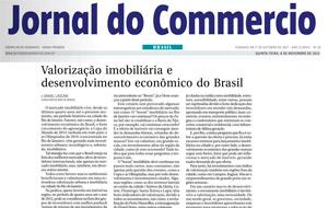 O consultor empresarial, Daniel Lascani, teve artigo publicado no Jcom sobre valorização imobiliária e desenvolvimento econômico no Brasil.