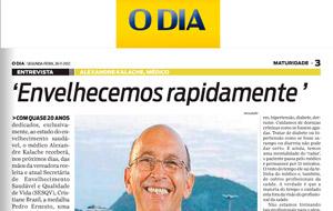 Jornal O Dia noticia o trabalho da vereadora reeleita Cristiane Brasil.