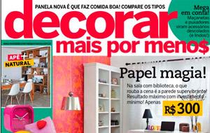 Os Con-tacts da Vulcan foram utilizados em matéria sobre reforma em cozinhas, da revista Decorar Mais Por Menos.