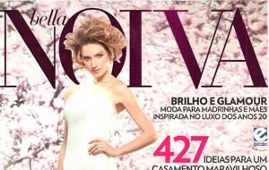 Os Candy Drinks da Blitz Open Bar foram destaque na revista Bella Noiva.