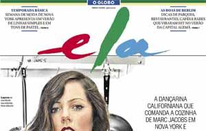 O caderno Ela divulgou a nova técnica inspirada em David Bowie e Edie Sedgwick de Neandro Ferreira, hair stylist do salão Club Capelli