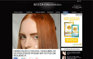 No site Beleza Extraordinária, a hairstylist do salão Single Hair & Beauty fala sobre hidratação e escova