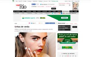 A manicure do salão Single Hair & Beauty dá dicas de tendências de unhas para o verão no site da Veja Rio