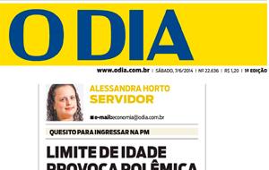 O advogado Marcelo Queiroz foi fonte do O Dia em matéria sobre limite de idade para soldados da PM