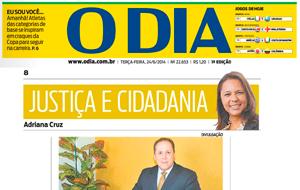 O advogado Marcelo Queiroz foi fonte da coluna Justiça & Cidadania, do O Dia