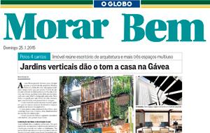 O projeto da arquiteta Monica Vieira saiu na coluna 'Pelos 4 Cantos', do Morar Bem