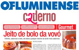 O caderno Dois, do O Flu, publicou nota sobre os famosos bolos da Venda Mineira