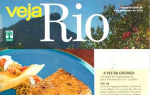 A Veja Rio destaca o jantar harmonizado do PEK 170 com as cachaças Sete Engenhos