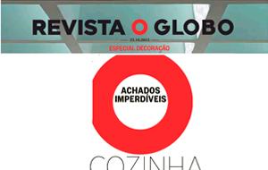 A luva de cozinha da loja The Gift Box Br é destaque na coluna Achados Imperdíveis, da Revista O Globo