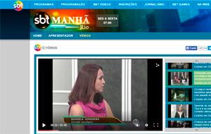 A cirurgiã oncológica da mama Manuela Junqueira é fonte em matéria sobre o Dia Nacional do Câncer, no programa SBT Manhã