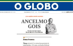 A nova parceria do exame Simply Fit Brasil com as jogadoras de vôlei de praia Ágatha e Bárbara é destaque na coluna Ancelmo Gois, do O Globo