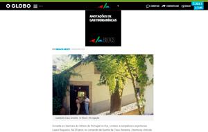 O Caderno Ela Online publicou um perfil sobre Laura Regueiro, proprietária da Quinta Casa Amarela