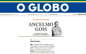 O lançamento do Olímpico Méier Residencial Clube é destaque na coluna Ancelmo Gois, no jornal O Globo