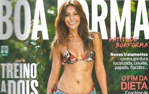 A nutricionista Andrezza Botelho é fonte em matéria sobre a dieta HCG, na revista Boa Forma de junho