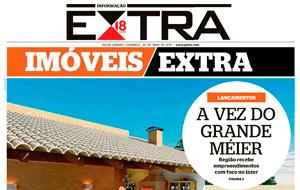 O Olímpico Méier Residencial Clube é destaque em matéria sobre novos empreendimentos na Zona Norte, no jornal Extra