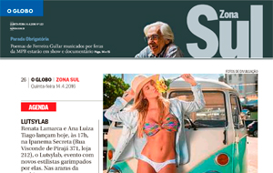 "A campanha ""Gente como a gente 2016″, da Blih! Brazilian Bikini, é destaque no O Globo Zona Sul"