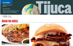 O Globo Tijuca incluiu a sugestão do Galeto Bandeira no Água na Boca