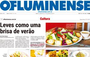 A coluna Gourmet, do O Fluminense, está recheado de clientes Datz Gourmet. Confira!