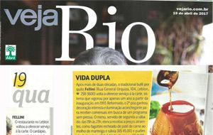 Inauguração do Bistrô do Fellini é notícia na Veja Rio