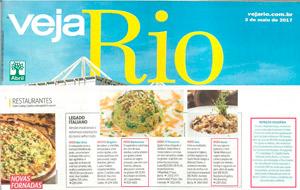 Clientes Datz Gourmet ganham destaque em edição da Veja Rio publica notas