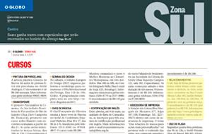 A palestra mediada pela psicóloga Fabiane Curvo foi destaque no O Globo Zona Sul