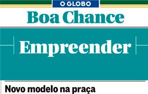 A coluna Empreender do caderno Boa Chance, do O Globo, publicou nota sobre modelo de franquias do Skipper