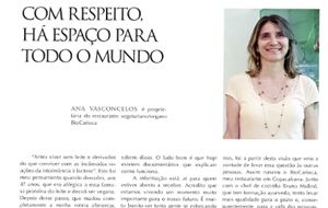 Ana Vasconcelos, do BioCarioca, é destaque na Revista O Flu