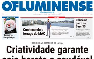 No jornal O Fluminense, a nutricionista Orion Araújo dá dicas de como fazer uma ceia saudável e econômica