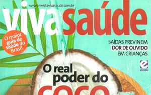A dermatologista Christiane Gonzaga fala sobre criolipólise, na revista VivaSaúde